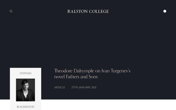 ralston web 3